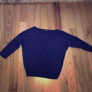 Express dolman sleeve sweater with zip size S